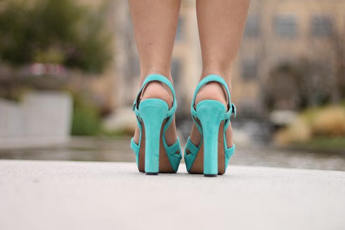 7faf155a6b0f99 Shoes  Sam Edelman. Purse  Rebecca Minkoff Swing Black Shoulder Bag.  Necklace  Cuffs  from Bloomingdales